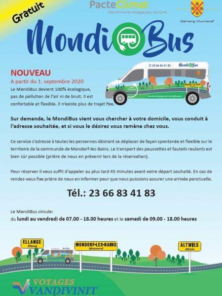 Mondibus 01.09.2020